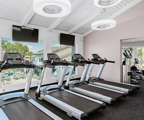 Fitness Weight Room, Adagio at South Coast