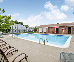 Pool, Middle River Townhomes
