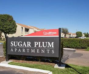 Community Signage, Sugar Plum Apartments