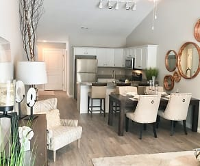 Living Room, The Encore at Fallen Timbers