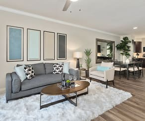 Living Room, Stadium Vue Townhomes
