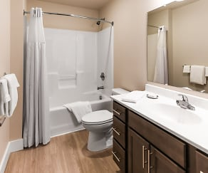 Bathroom, 304 River Edge Lofts