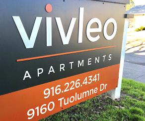 Community Signage, VivLeo Apartments