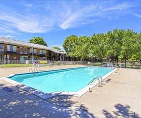 Pool, Cambridge House Apartments