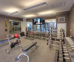 Fitness Weight Room, Oakwood Chicago River North