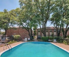 Pool, Monticello Square
