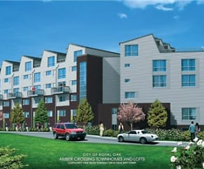 Building, Amber Crossing Townhomes and Lofts