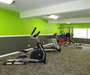 Fitness Weight Room, Meridian Estates