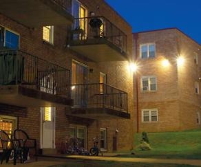 Building, Monroe Village Apartments