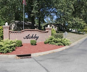 Community Signage, Ashby Apartments