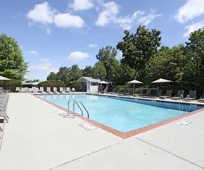 Pool, Portage Pointe Apartments