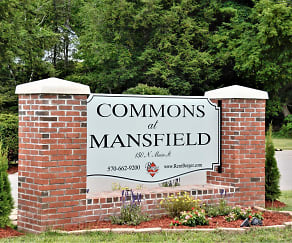 Community Signage, Commons at Mansfield