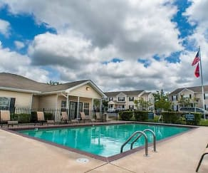 Pool, Wilmington Apartments