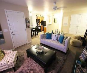 Living Room, Arborwood At Mann Road