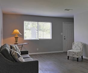 Living Room, Vineville Townhomes