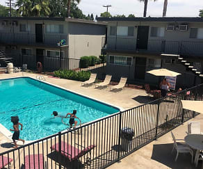 Pool, Orange Grove Apartments