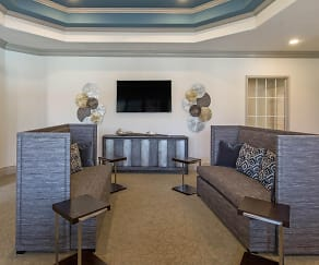 Clubhouse Lounge Area, Park at Northgate Apartments