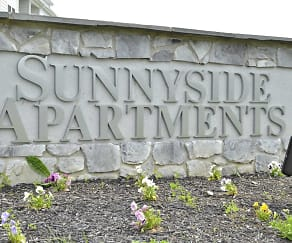 Community Signage, Sunnyside Apartments