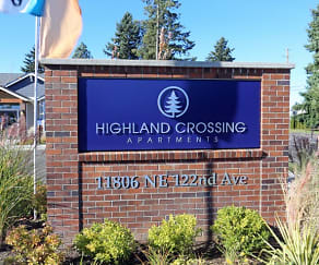 Community Signage, Highland Crossing