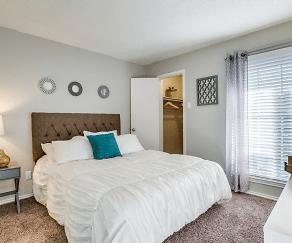 Bedroom, Westmoor Apartments