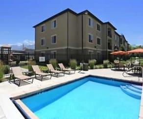 Pool, Brickstone Apartments on 33rd