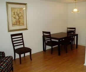 Dining Room, Marydale Lakeview Apartments