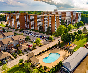 Pool, Pine Ridge Apartments