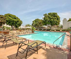 Pool, El Cordova Fountain Apartments