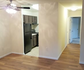 Select Apartments Feature Plank Flooring, Weston Circle & Wicklow Square