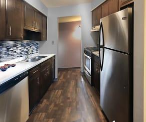 Kitchen, Fountain View Apartments