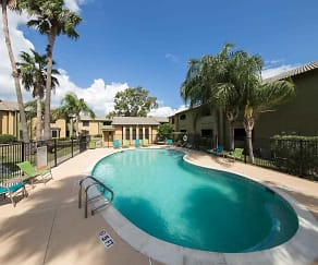 Pool, Sierra Apartments