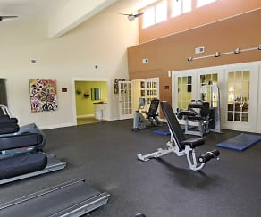 Fitness Weight Room, Mariner's Cove Apartment Homes