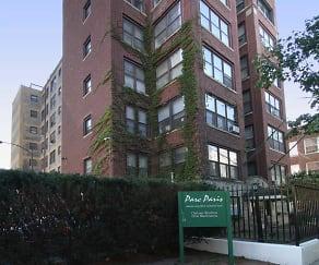 Building, Parc Paris Apartments