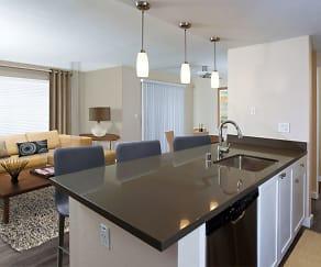 Kitchens with Quartz Countertops, Tile Backsplash, and Stainless Steel Appliances, Avalon La Jolla Colony