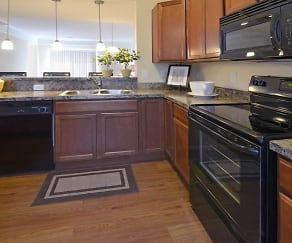 Interior-Kitchen, Lancaster Midtown