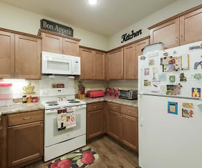 Kitchen, Griner Gardens Apartments
