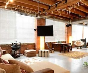 Living Room, Metro Lofts