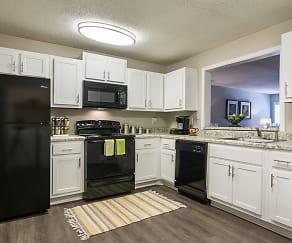 Kitchen, The Atlantic Peachtree Corners