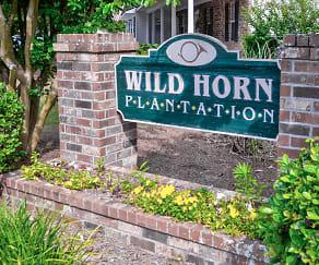 Community Signage, Wild Horn Plantation