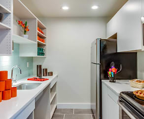 Kitchen, Central Park Apartments
