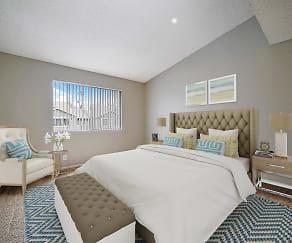 Bedroom, Southridge Apartments