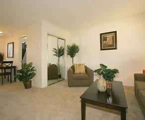 Living Room, Promenade Apartments