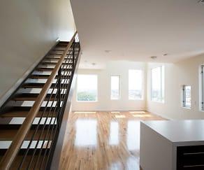2 Bedroom Duplex/ Loft unit, Richardson Lofts (ext.145)