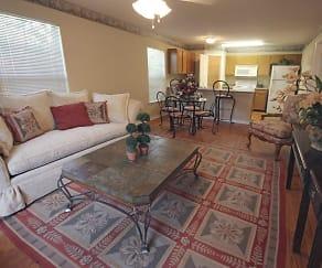 Living Room, Cross Gates Apartments
