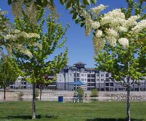 Building, Waterfront at the Marina