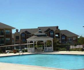 Pool, Harris Branch Apartments