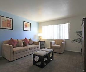 Living Room, Sunrise Vista Apartments