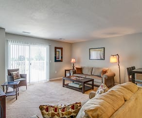 Living Room, Northwind Apartment Homes
