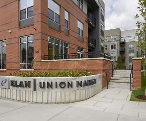 Community Signage, Elan Union Market
