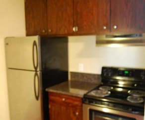 Kitchen, Marydale Lakeview Apartments
